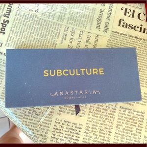 Anastasia Beverly Hills Subculture eye palette